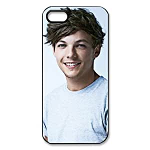 CTSLR Music & Singer Series Protective Hard Case Cover for iPhone 5 - 1 Pack - One Direction - Louis Tomlinson 11