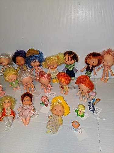 Vintage Strawberry Shortcake & Friends Dolls Miniatures American Greetings Co