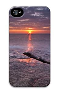 beach sunset hd PC For Apple Iphone 5C Case Cover