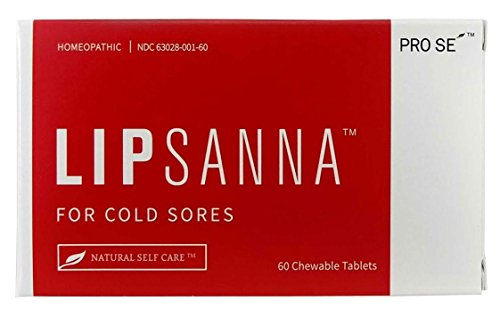 Lipsanna - 100% Natural Treatment For Cold Sores/Fever Blisters/Canker Sores