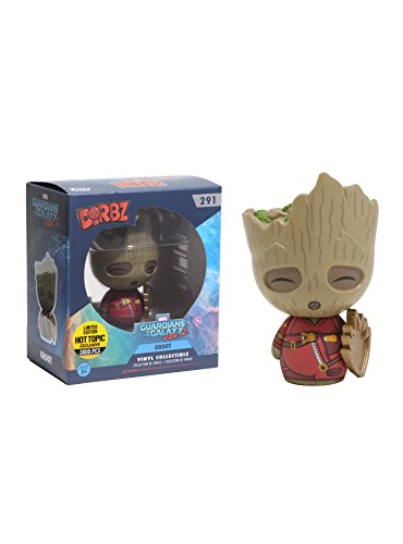 Funko Marvel Guardians Of The Galaxy Dorbz Groot Vinyl Figure Limited Edition Hot Topic Exclusive