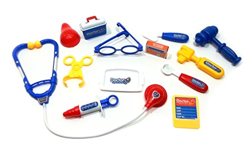 Kids Learning Toy - Doctor and Nurse Medical Kit Playset (Doctor Outfit)