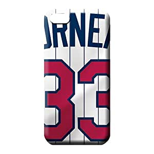 iphone 6plus 6p Brand Plastic style cell phone carrying cases minnesota twins mlb baseball