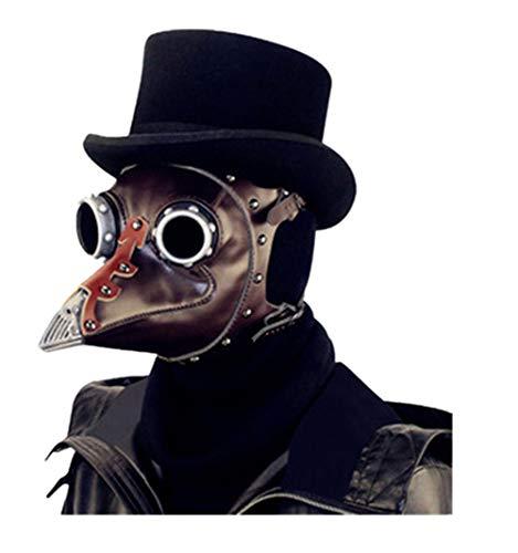 HY Steampunk Halloween Plague Beak Doctor Mask