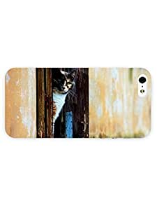 3d Full Wrap Case for iPhone 6 plus 5.5 Animal Green Eyed Cat