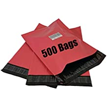 iMBAPrice 500 - 10x13 DUSTY (ROSE PINK) Color Poly Mailers Envelopes Bags (Total 100 Bags)