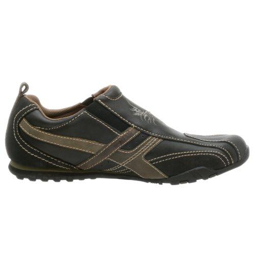 Skechers, Sneaker Homme Marron Noir