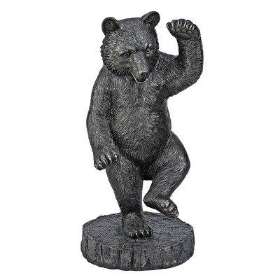 Design Toscano The Bear Dance Garden Statue, Bronze