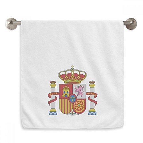 DIYthinker Spain Europe National Emblem Circlet White Towels Soft Towel Washcloth 13x29 Inch by DIYthinker