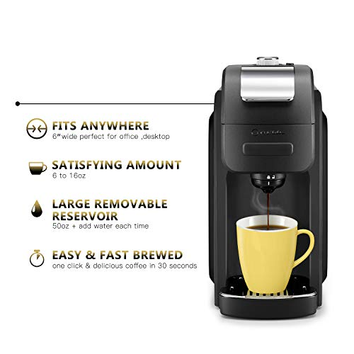 ODA 1128B Serve with Removable with The 6 to 16 oz Brew Size Travel,