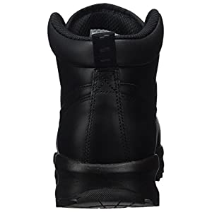 Nike Manoa Leather Black/Black/Black Mens Lace-up Boots