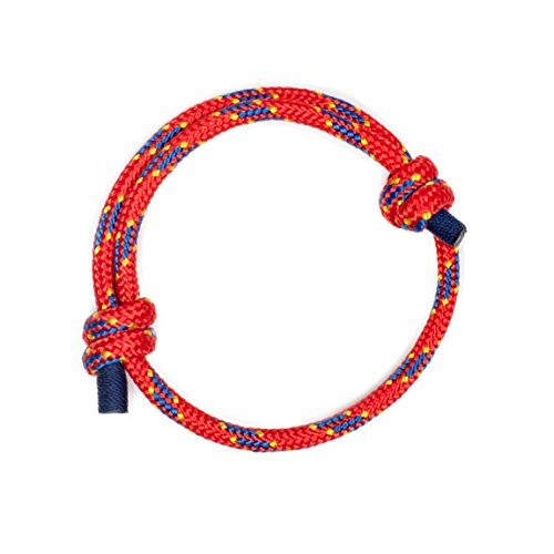 Wind Passion Red Braided Nautical Bracelet for Men Stylish Accessories