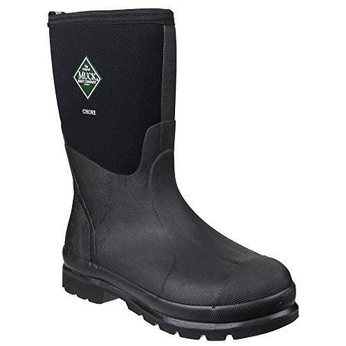 Negro Boot Chore Mid Agua Muck Adulto Botas De Unisex H8q8d