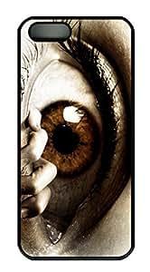 Horror Evil Eye HAC1014305 Custom PC Hard For HTC One M9 Phone Case Cover Black