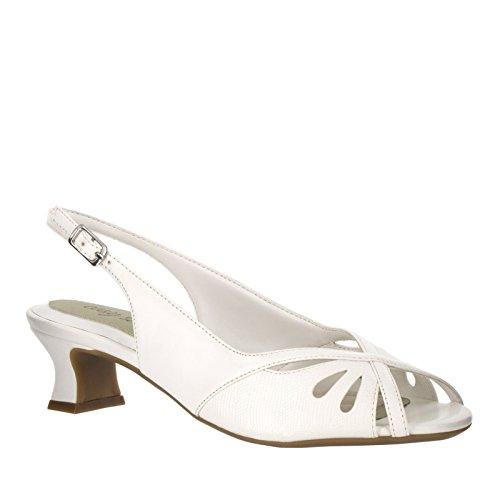 Easy Street vestido Ilana Bomba White