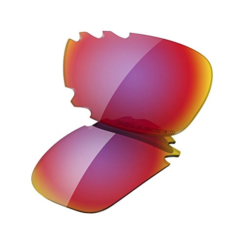 Oakley Racing Jacket Replacement Lens OO Red Irid Polar Vented, One - Oakley Jacket Red
