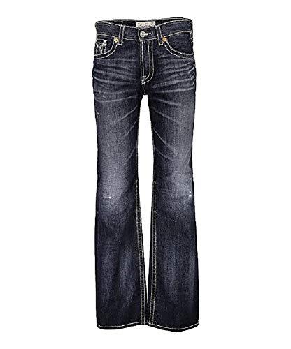 Big Star Men's Vintage Pioneer Bootcut Jeans 4 Year Spencer (38 X R) (Big Star Jeans Mens Pioneer)