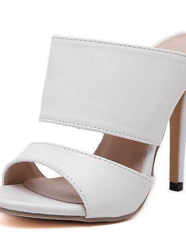 Ferse B眉ro open Abendkleid Amp; Ehe UWSZZ Sandalen schwarz Sandalen wei toe Schuhe Die Komfort Party Karriere amp; Frau amp; elegante Amp; wwFx8XPg