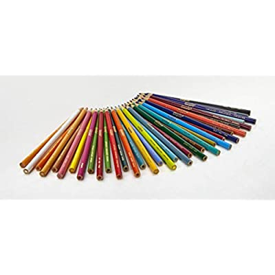 BIN684036 - Crayola Long Barrel Colored Woodcase Pencils: Toys & Games
