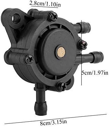 Jeffergrill 491922 691034 692313 808492 808656 Fuel Pump for Mikuni Briggs /& Stratton Black