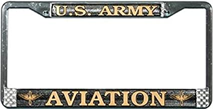Ford Mustang Country USA 1964 Chrome Plated Metal License Plate Frame