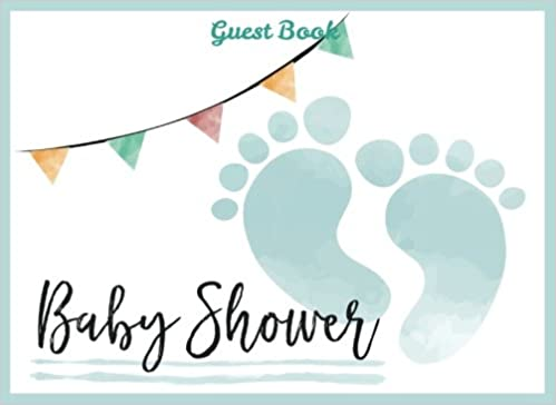 b3d52b32613 Baby Shower Guest Book for Boy  Baby Guest Book Shower