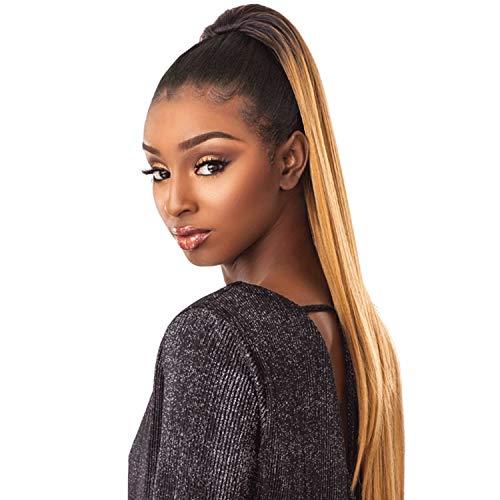 Sensationnel Synthetic Hair Drawstring Ponytail Sleek Straight 30