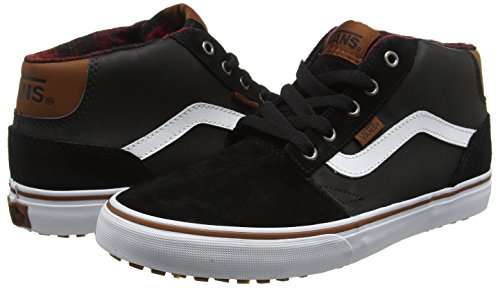 fa5c7b6da6 Vans Men s Chapman Lace-Up Hi-top Sneakers Black (Mte Black Bungee) 6 UK   Buy Online at Low Prices in India - Amazon.in