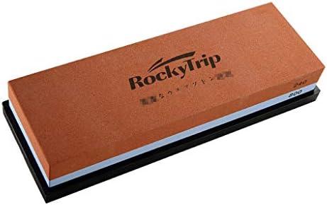 SGMYMX砥石 砥石240レッド/ブルー#800両面細かい研削砥石オイル家庭用ナイフの刃の開口部 ウェット砥石