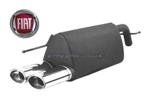 Sport Exhaust 107-211//10-1 Backbox Silencer Muffler