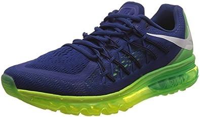 Nike Air Max 2015 - Zapatillas de running para hombre, azul verde, EUR 45: Amazon.es: Ropa y accesorios