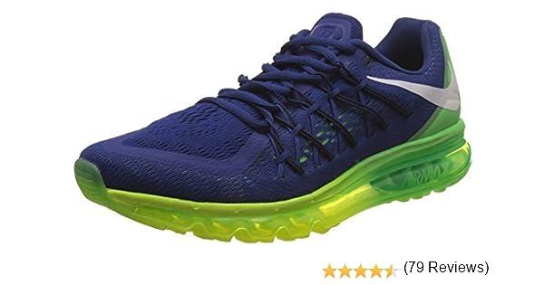 Nike Air Max 2015 - Zapatillas de running para hombre, azul verde ...