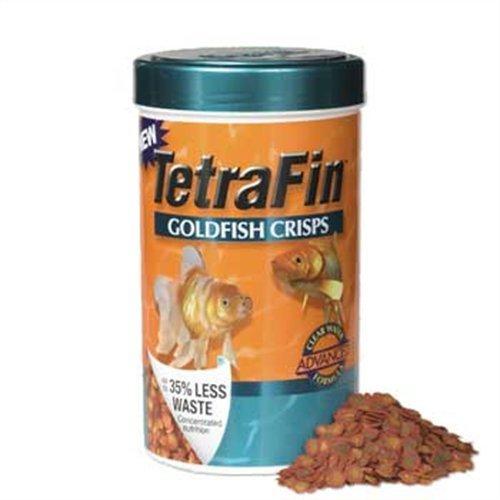 Tetra 77181 TetraFin Goldfish Crisps, 7.76-Ounce , 1-Liter, My Pet Supplies
