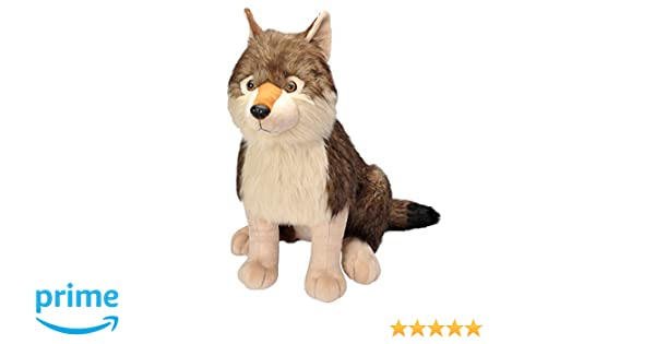 Amazon.com: Wild Republic Wolf Plush, Stuffed Animal, Plush Toy, Gifts for Kids, Little Biggies 30 Inches: Toys & Games