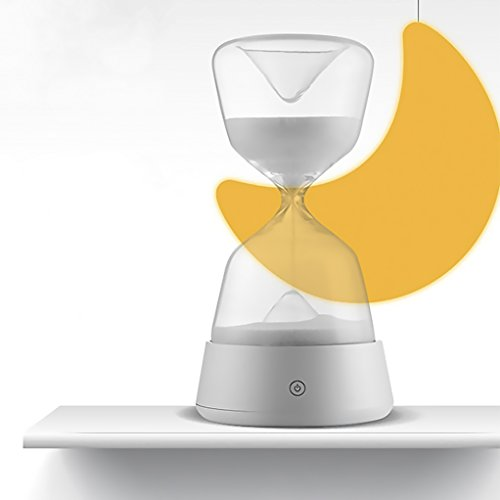 IDEAcone Sandglass Sleep-Assistant Night Lamp, Touch-Sens...