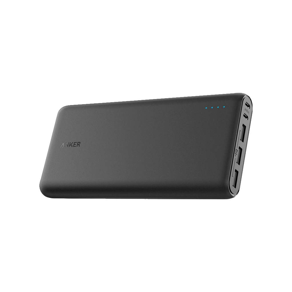 Anker PowerCore 26800 Portable Charger, 26800mAh External Battery with Dual Input Port and Double-Speed Recharging, 3 USB Ports for iPhone, iPad, Samsung Galaxy, Android and Other Smart Devices by Anker