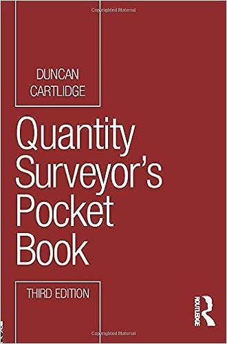 Quantity Surveyor's Pocket Book (Routledge Pocket Books