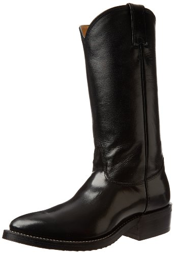 Nocona Boots Men's Veal Boot - Black - 9 2E US