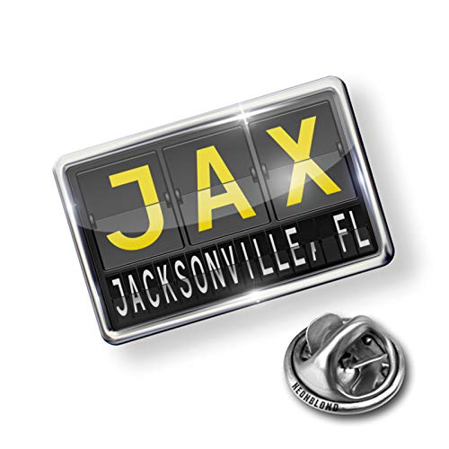 - NEONBLOND Pin JAX Airport Code for Jacksonville, FL