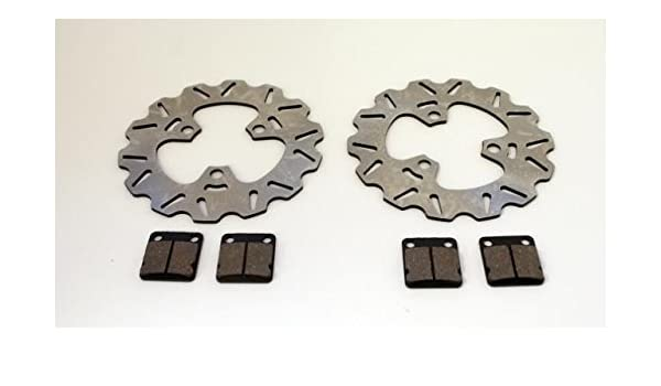 Fits Honda TRX400EX 400EX Front and Rear Brake Pads and Sport Rotors