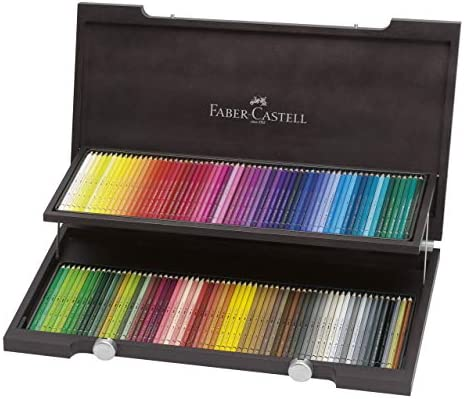 Faber Castell Albrecht Durer Watercolour Pencils In Wood Case Of