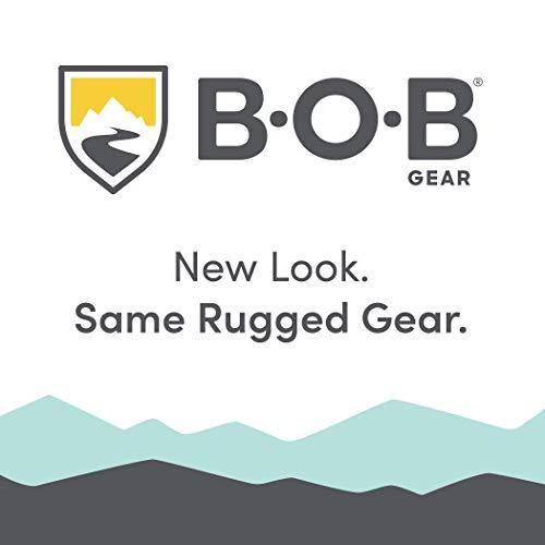 41GuWBdQIGL - BOB Gear Revolution Flex 3.0 Duallie Double Jogging Stroller | Smooth Ride Suspension + Easy Fold + Adjustable Handlebar, Graphite Black [New Logo]