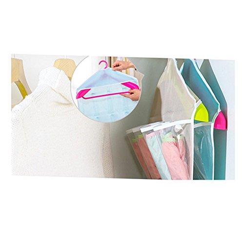 Poches Bijoux Soutien de de gorge rangement sacs Chaussures pour Chaussettes Sulida® organisateur suspendus 16 poches Culottes gris qzfwAgx5Tn