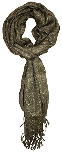 Ted and Jack - Hollywood Dreams Sparkling Metallic Scarf (Scarf Bronze)