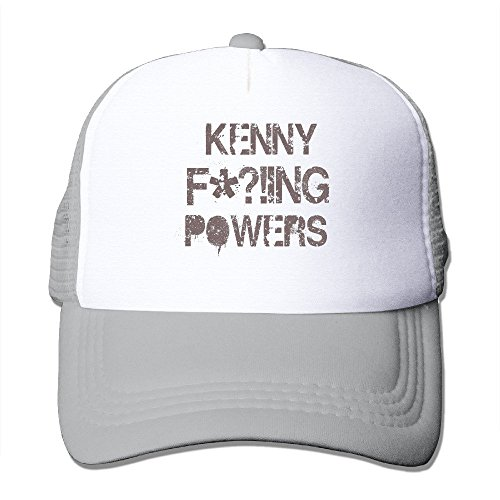 Texhood Kenny F*!ing Powers Fashion Trucker Hat One Size Ash (Wigs Minneapolis)