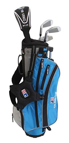 "US Kids ULTRALIGHT 45"" 4-Club Carry Bag Set (Right Hand) Blue"