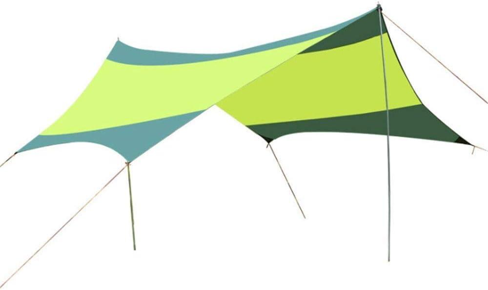 Lluvia Mosca Portable Carpa Camping Refugio Lona 18x18.4 ...