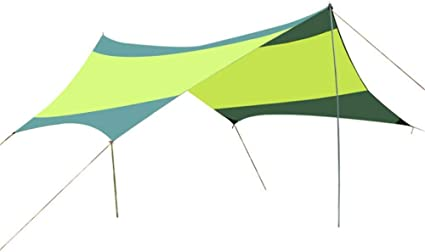 Lluvia Mosca Portable Carpa Camping Refugio Lona 18x18.4 Pies ...