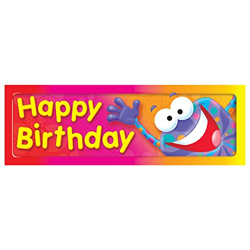 Birthday Bookmarks - Trend Enterprises Inc. Happy Birthday Frog-Tastic! Bookmarks, 36 ct