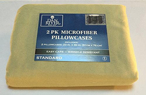 rofiber Pillowcase (Standard, Green) (Dan River Pillowcase)